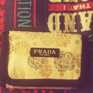 PRADA coin purse and money holder